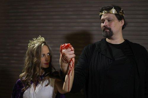 Lady Macbeth is Casey Bessette, Macbeth is Chris Soucy