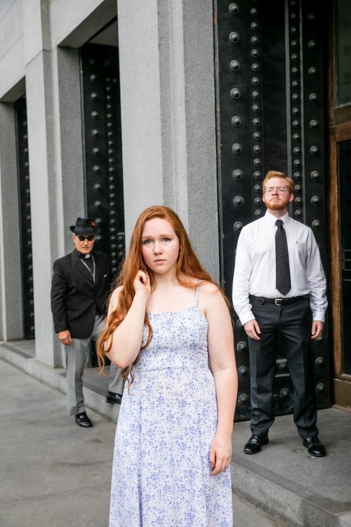 Michael Weaver, Julia Flowers, and Zach Elton.