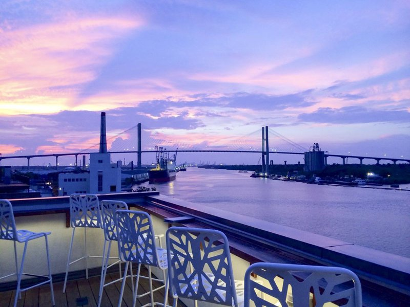 End 2020 with sweeping views over the Savannah River at Top Deck.