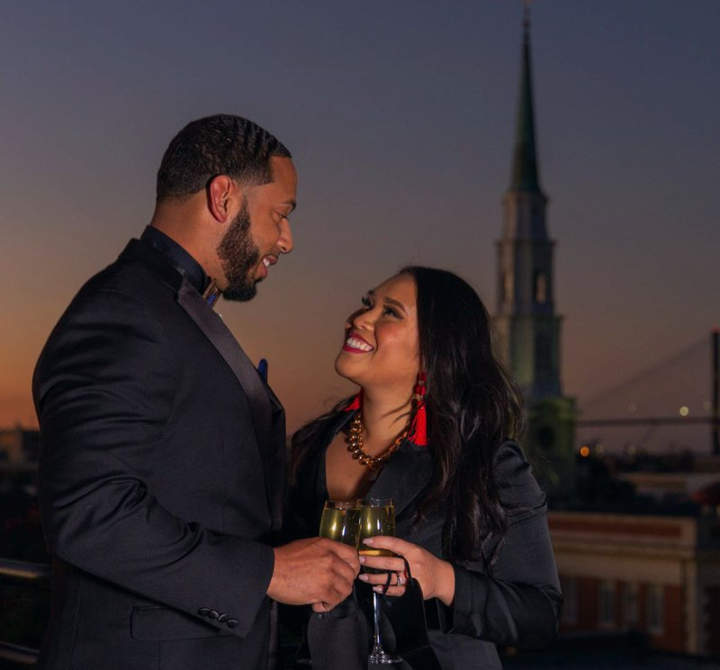 Fall in love all over again during the NYE party at Peregrin rooftop bar.