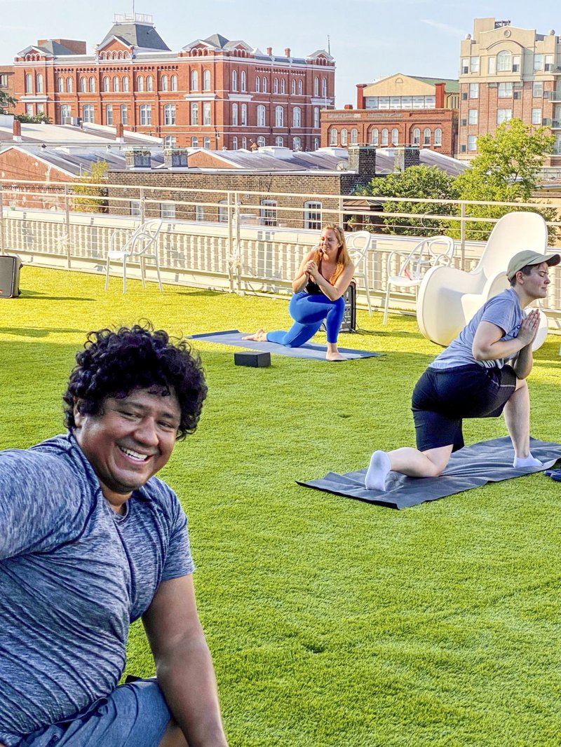 New Yoga Now at Plant Riverside's rooftop