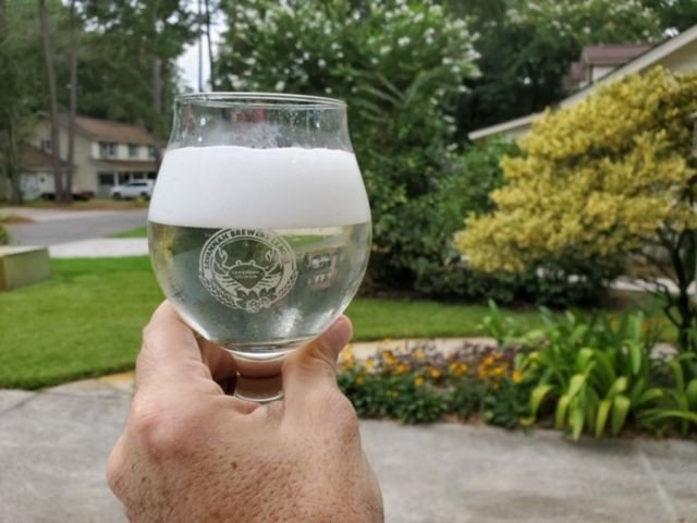 A lemoncello hard seltzer brewed by Chris Stovall