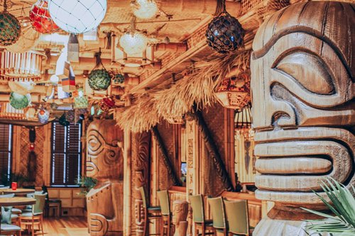 The Bamboo Room is a exotic tropical hideaway in Downtown Savannah. Enjoy classic tiki drinks, modern tropical cocktails, and an extensive rum selection from around the world.