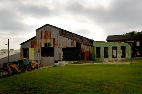 What the machine shop looked like before renovation.