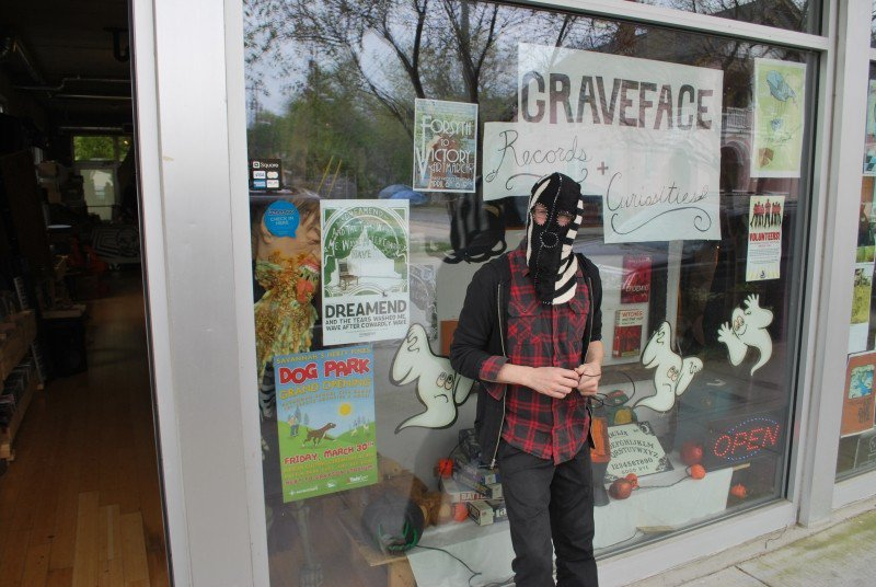 When soundproofing's done, Graveface will be back in the all-ages, live music business.