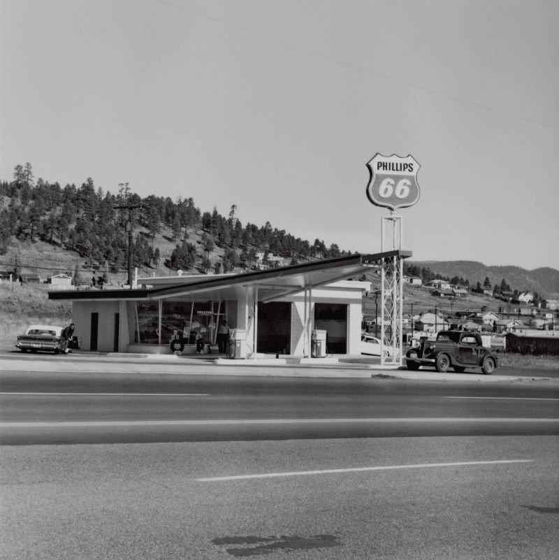 Ed Ruscha, Phillips 66, Flagstaff, Arizona, 1962