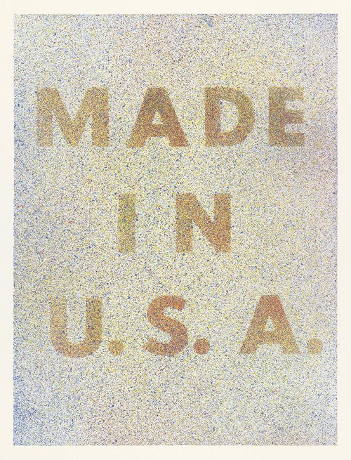 America Her Best Product from Kent Bicentennial Portfolio Spirit of Independence  by Edward Ruscha