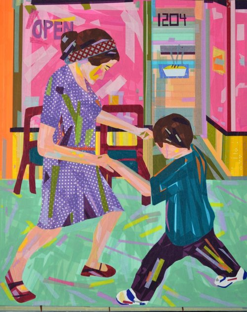 Dancing on Frazier by Len Ciliento