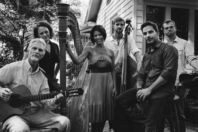Uncommon Collective, Savannah's latest supergroup, features harpist Kristin King, vocalists Trae Gurley and J. J. Hobbs, mandolin player Cory Chambers, guitarist Bill Smith and bass player Linus Enoksson.