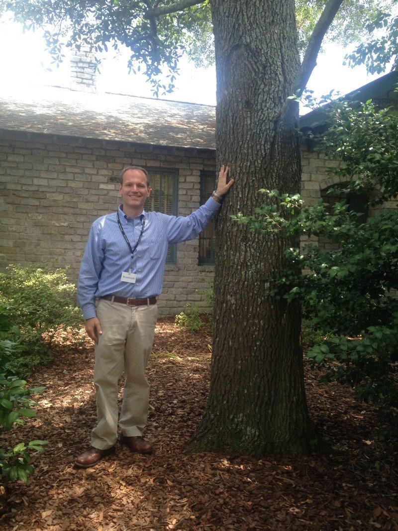 City of Savannah Park & Tree Director Gordon Denney takes a