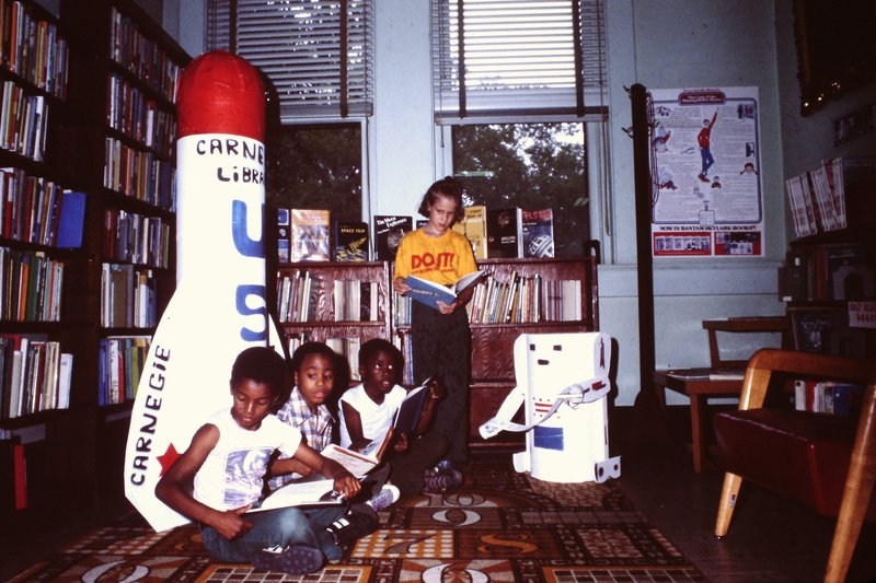 The library has hosted generations of African American citizens in its reading rooms.