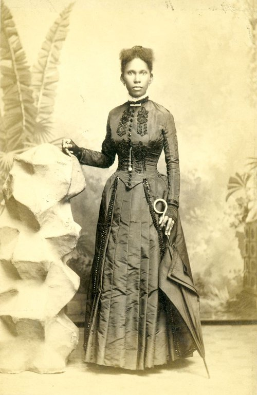 Though often mistaken for Mother Mathilda, this photo almost certainly depicts Josephine Beasley (Georgia Historical Society collection of photographs, MS 1361.)