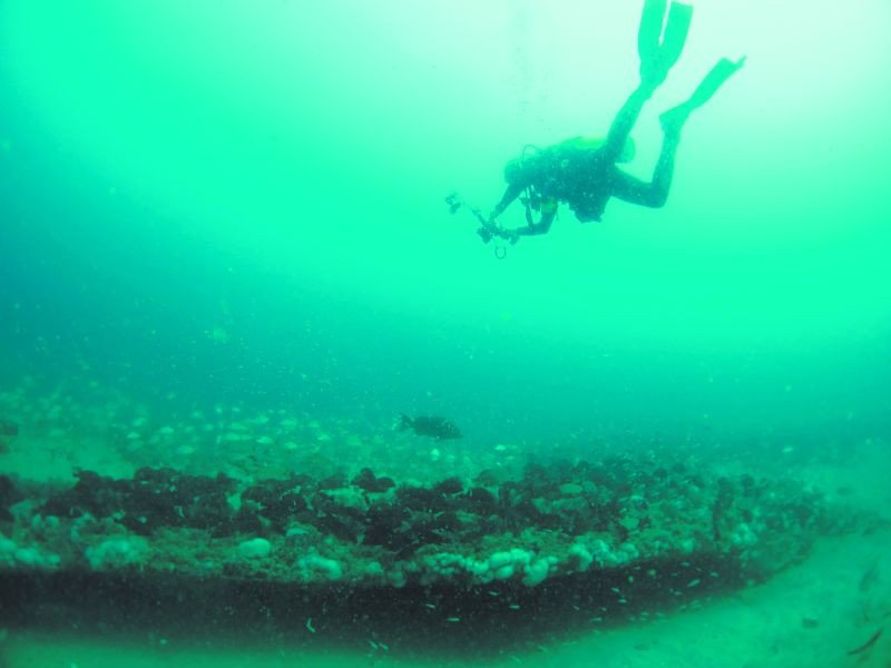 Scientists collect data from the protected research area, which makes up a third of the overall marine sanctuary.