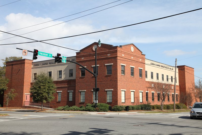 CVCPHC has been serving Chatham County since 1974 and currently has 5 service delivery sites, including this one at Broad and President. Photo: Kareem McMichael