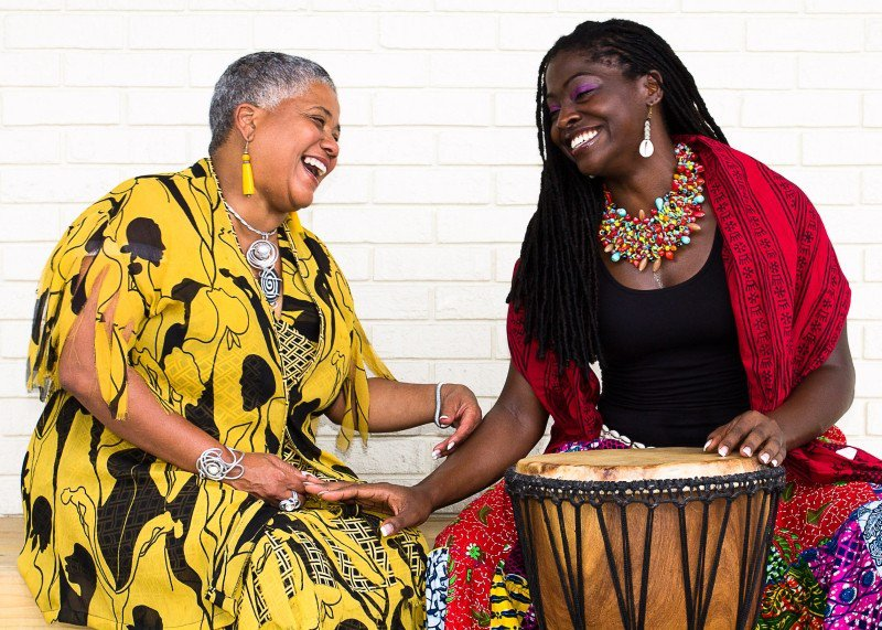 Lady Mahogany Bowers carries on the traditions that she learned from community elders like Lillian Grant-Baptiste