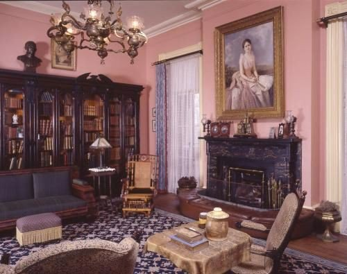 Before last year, the room was a traditional library setting depicting where the Gordon family once convened and socialized.