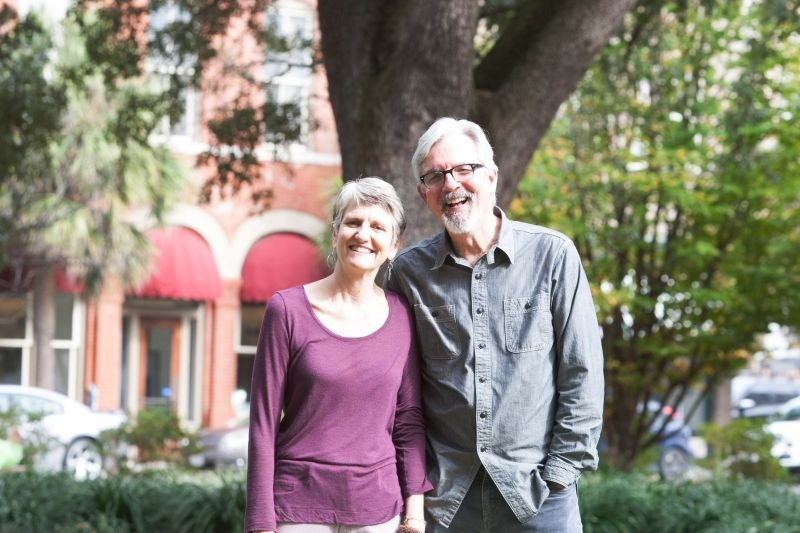 Ann Curry and Rev. Enoch Hendry have lived on the top floor of historic Trinity UMC for 14 years. The reverend retires at the end of May, and it's time to turn in the keys.