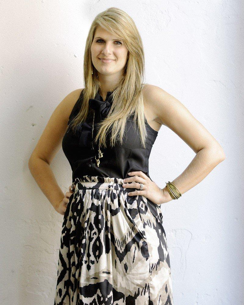 Fashion Night organizer Bree Thomas