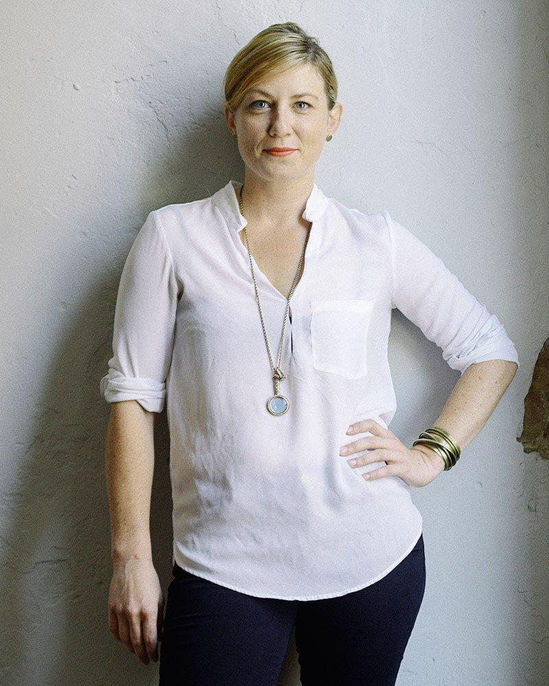 Fashion Night organizer Erin Wessling