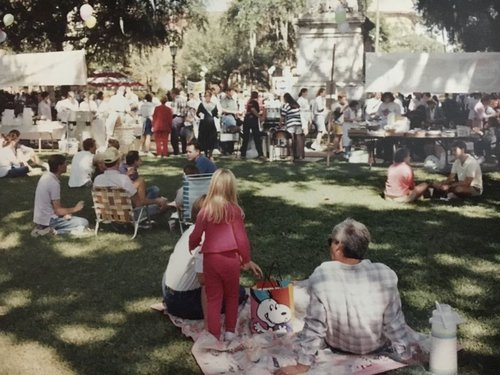 Back to Square One: The festival is moving back to its original location on Monterey Square.