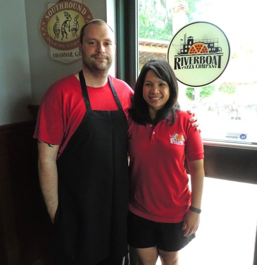 Owner/Chef Jon Lyle & his wife Cha-Cha