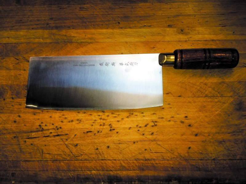 The Chinese Chef Knife.