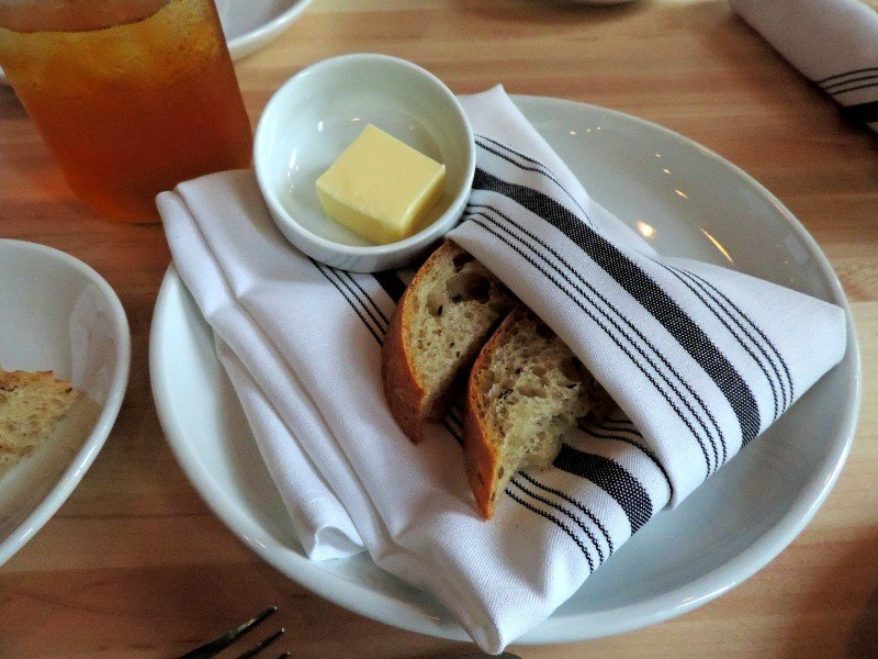 Rye Bread with Butter, yum!