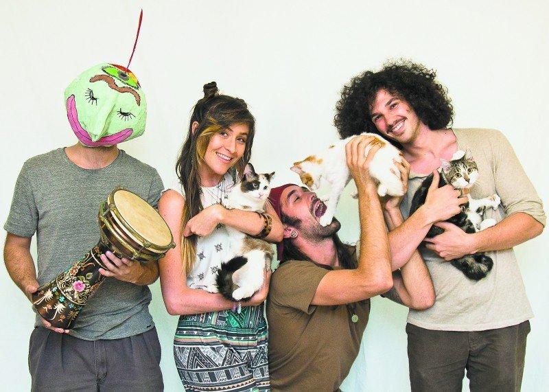 Omingnome's Tyler Cutitta takes a bite outta six-month-old Juno!