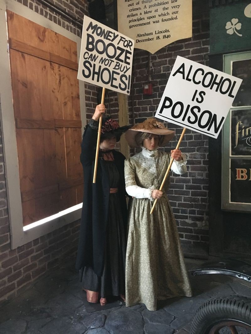 Exquisite wax figures and interactive installations bring history to life at Savannah's latest attraction about adult beverages and their relationship with society and culture.