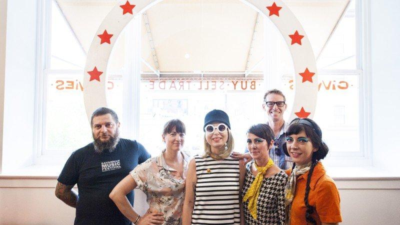 A dream team of friends and supporters: Igor Fiksman, Jenny Reeder, Robyn Reeder, Danielle Hughes Rose, Sebastian Edwards, LaShawn Floyd.
