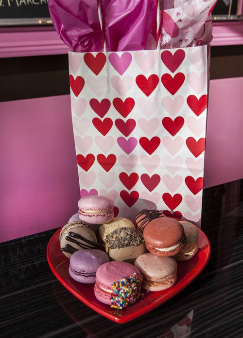 Marché de Macarons, a well-known Savannah specialty shop for cake-light French delights.
