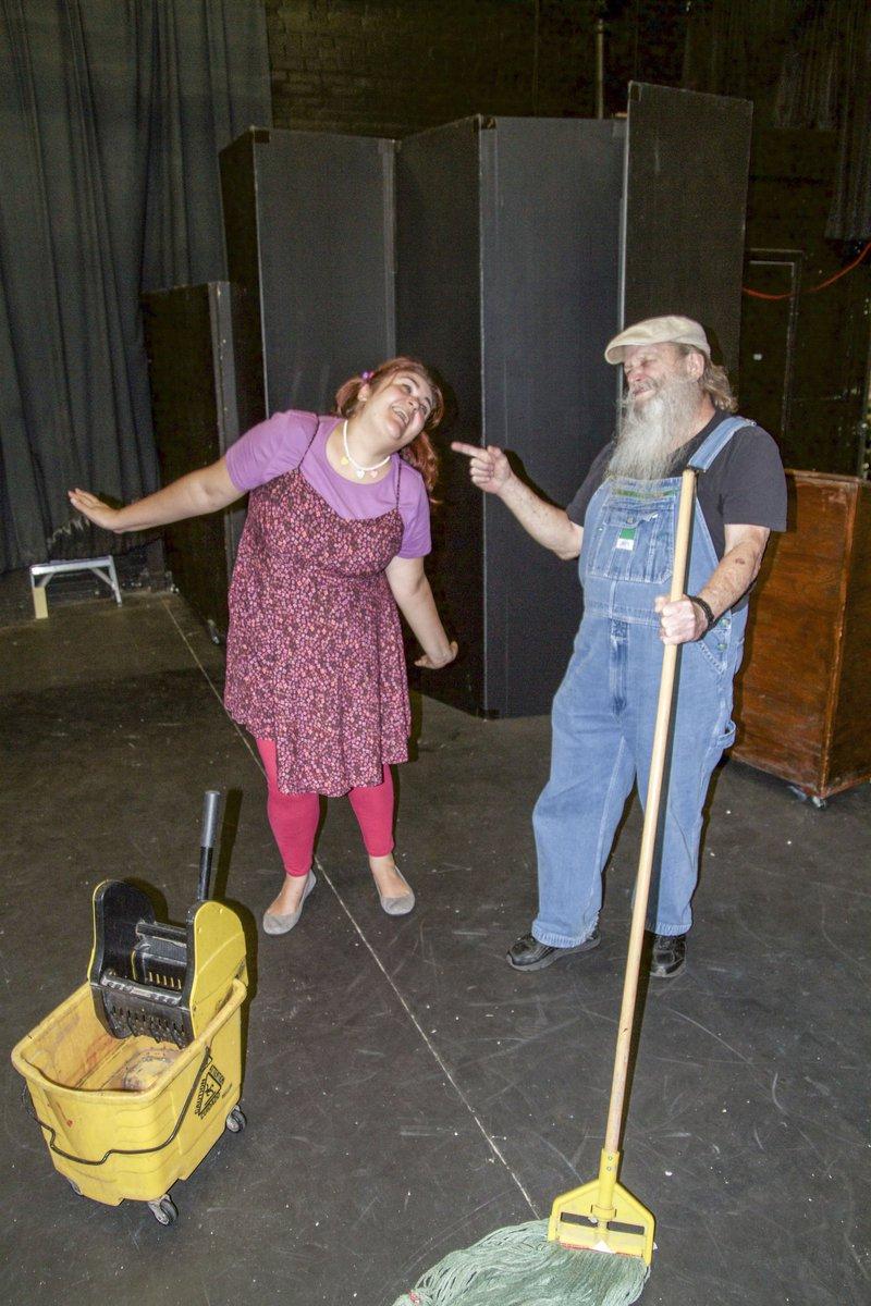 Vanessa Stipkovits and Tom Kelly.