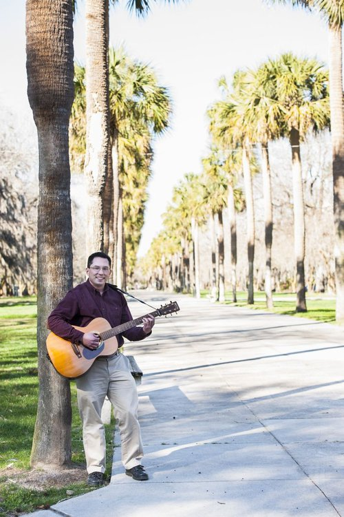 Corbett's passion for the guitar has provided him great solace, he says.