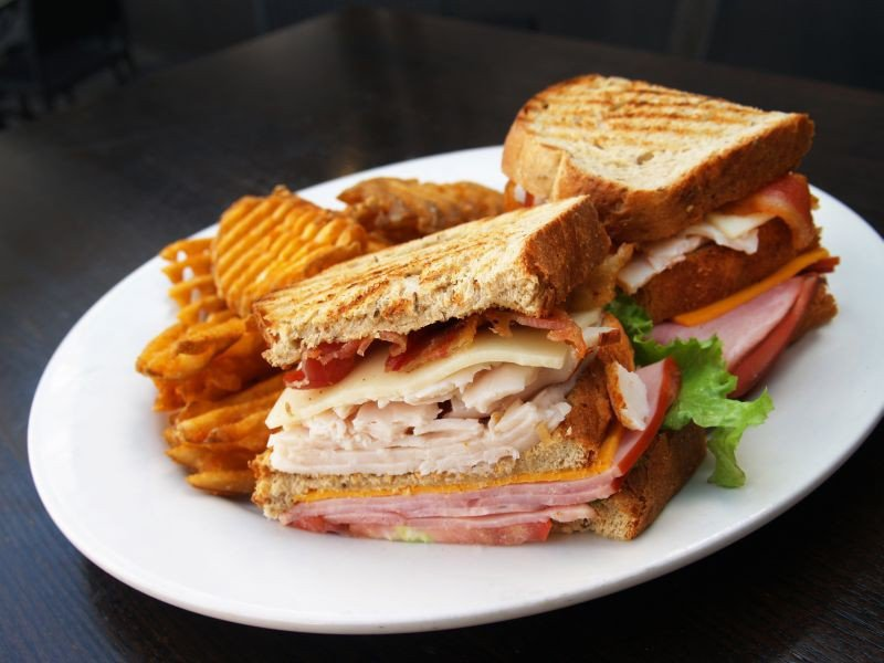 Anyone can become a member with Savannah Taphouse's take on the Club Sandwich.