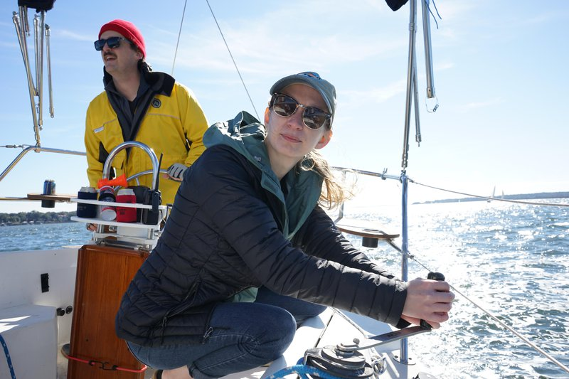 Experience the invigorating activity of open-water sailing with Sail Savannah's active instruction.