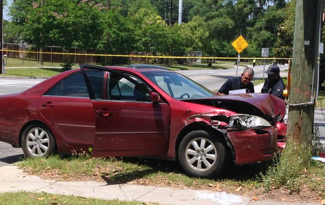 toyota_rests_against_utility_pole_after_tuesday_crash.jpg
