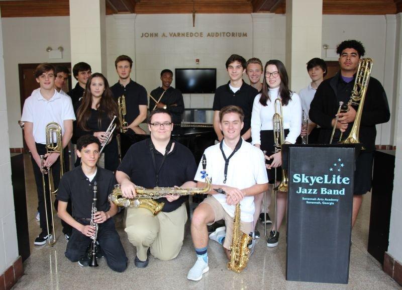 The SAA Skyelite Jazz Band