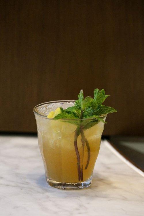The Savannah Smash cocktail.