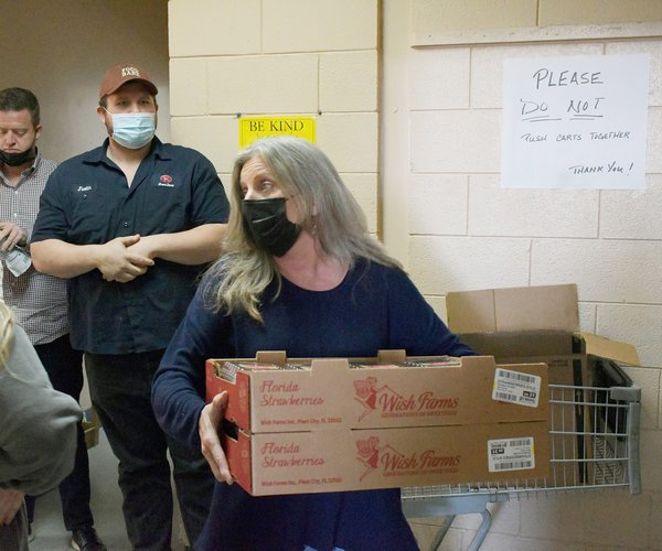 Jodi Brannon has kept the Statesboro Food Bank running throughout the coronavirus pandemic.
