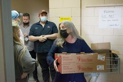 Jodi Brannon has kept the Statesboro Food Bank running throughout the coronavirus pandemic.