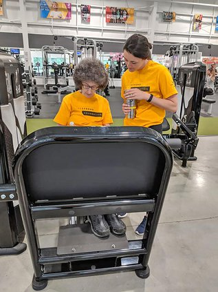 training LIVESTRONG