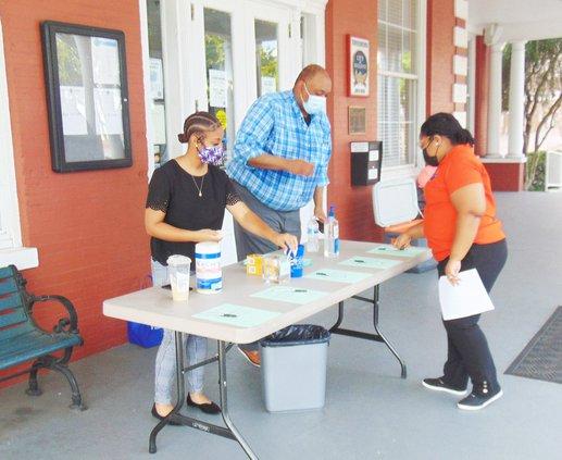 City Hall vaccination clinic
