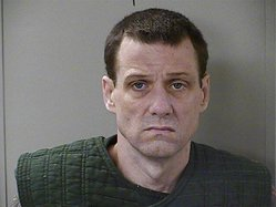 In this June 15, 2017, file photo released by the Rutherford County Sheriff's Office, escaped Georgia inmate Donnie Russell Rowe poses for a booking photo in Tenn. Jury selection wrapped up Friday, Sept. 17, 2021, in the trial of one of two Georgia prison